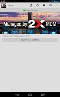 Screenshot of 2X MDM - Device Management