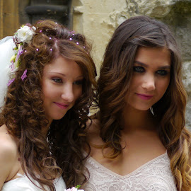Bride and Bridesmaid by DTphotography Nikon Lumix - Wedding Other