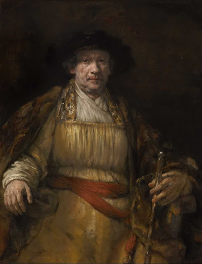 Rembrandt van Rijn, Autoritratto