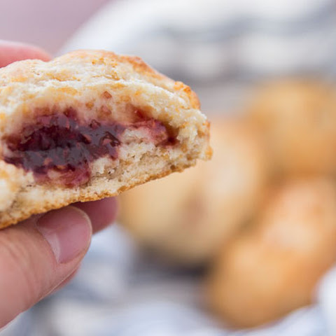 Peanut Butter and Jelly Biscuit