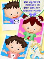 Screenshot of Baby Hair Salon
