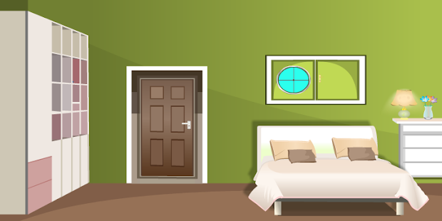 Escape Puzzle Green Living Room