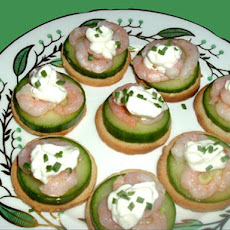 Marinated Shrimp Canapes