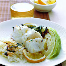 Hake Fillet with Jasmine Rice