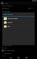 Screenshot of Caldav Sync Free Beta