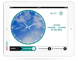 Screenshot of Clockaid