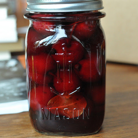 Pickled Sweet Cherries