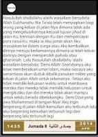 Screenshot of Kalendar Muslimin Malaysia