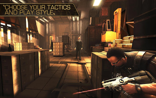 Deus Ex: The Fall - screenshot