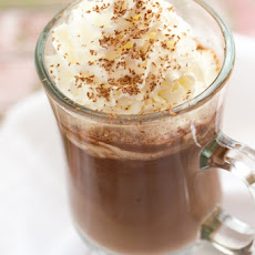 Nutella Hot Chocolate (just 2 ingredients!)