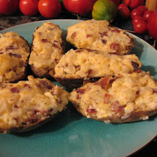 Cheesy Ranch-Bacon Stuffed Potatoes