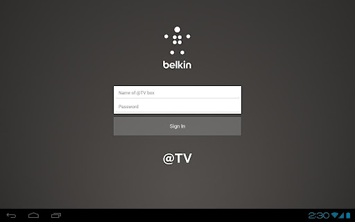 Belkin TV for Android Tablets