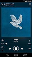 Screenshot of Spotify Music