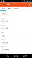 Screenshot of MOBIZY