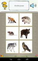 Screenshot of Výukové kartičky- hry pro děti