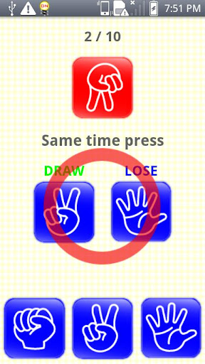 【免費休閒App】Rock-Paper-Scissors Game-APP點子