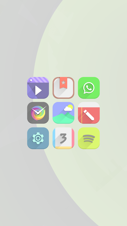 Vopor - Icon Pack Screenshot 2