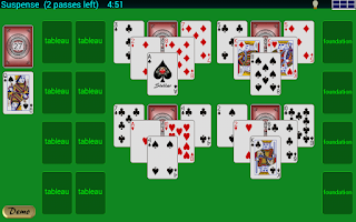 Screenshot of Stellar Solitaire