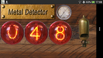 Screenshot of Metal Detector - Nixie Edition