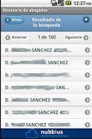 Screenshot of Abogados de Granada