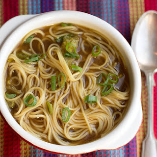 Chinese Noodle Broth Soup Recipes