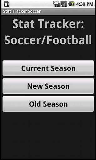 Stat Tracker: Soccer Football