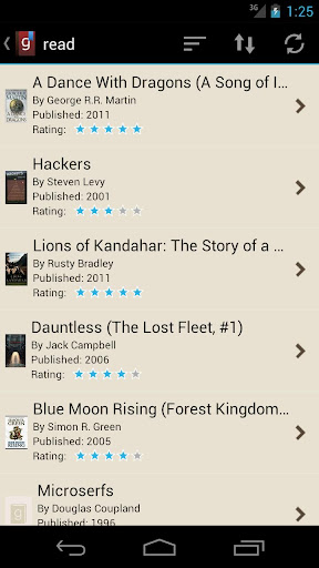 【免費書籍App】Goodreads Droid-APP點子