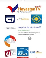 Screenshot of Armenia TV Online