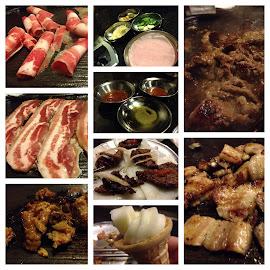 Korean BBQ @ Iron Age by Laurie Higgins - Food & Drink Ingredients ( asian food, korean bbq, pork, bbq )