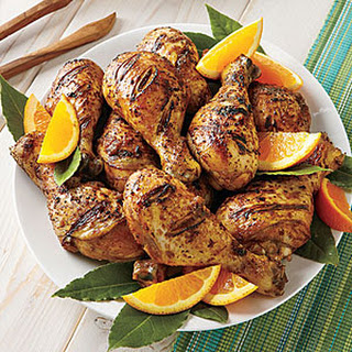 Grilled Jamaican Jerked Drumsticks