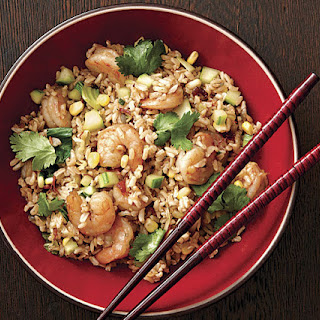 Chinese Black Pepper and Shrimp Fried Rice