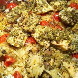 Pesto Rice Salmon Recipes