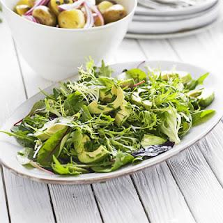 Mixed Green Salad With Avocado Recipes