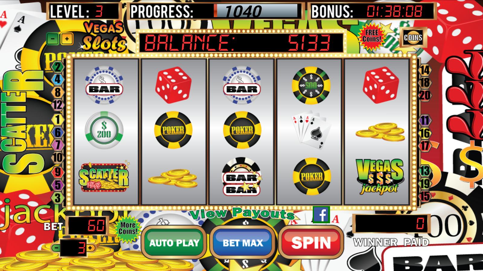 Vegas slots machines pala casino california