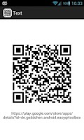 Screenshot of Easy QR Code Toolbox