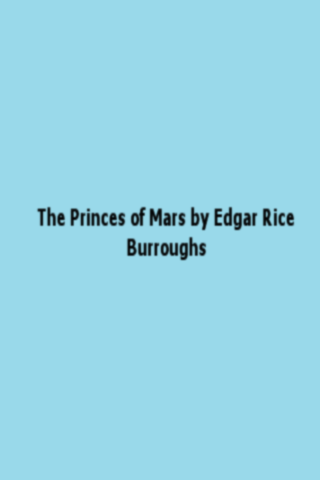 A Princes of Mars
