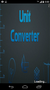 Simple Unit Converter - screenshot