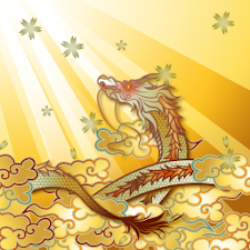 Golden Dragon of Spring