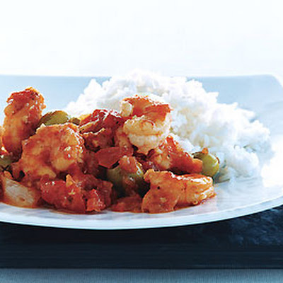 Shrimp with Sherry-Tomato Sauce