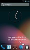 Screenshot of Lock My Screen