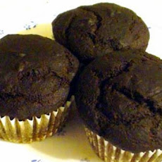 Chocolate Super Flax Cupcakes