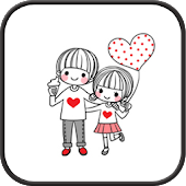App Dasom Couple GO sms theme APK for Windows Phone