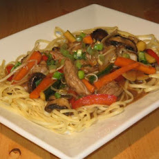 Authentic Pork Lo Mein - Chinese