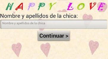 Screenshot of Test del amor HAPPY LOVE