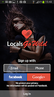 Screenshot of LocalsGoWild: Local Dating App