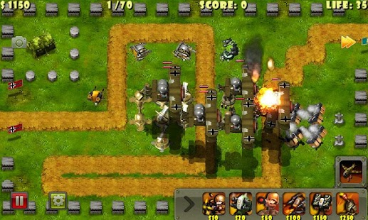 Little Commander - WWII TD APK for Ubuntu