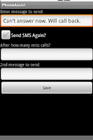 Screenshot of Phone Assistant