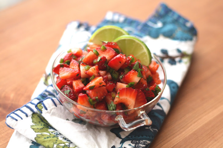 Strawberry Jalapeno Salsa
