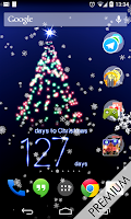 Screenshot of New Years Countdown to 2015