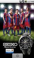 Screenshot of Team SEIKO & FC Barcelona